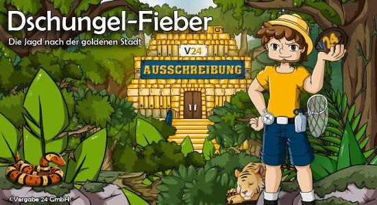 Vergabe24 Dschungel-Spiel